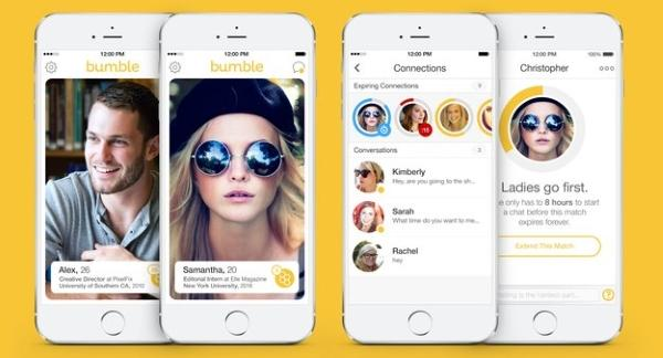 Bumble ottima app di incontri